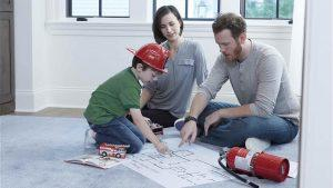 a-family-discusing-fire-safety