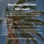affordable hurricane florence damage home inspection